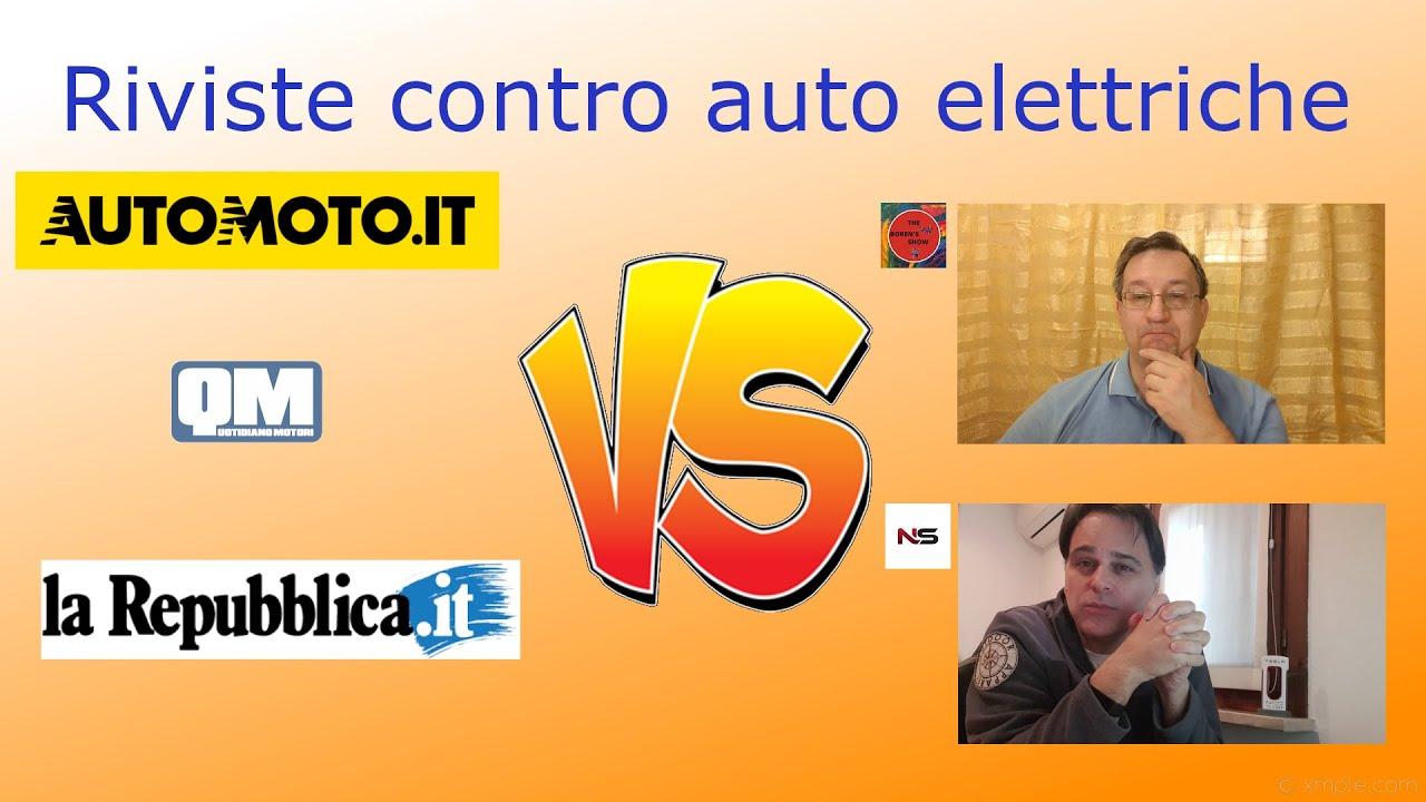 Riviste contro auto elettriche