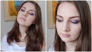 Prom Makeup Tutorial:  Purple Smokey Eye Thumbnail