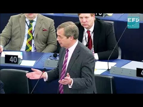 Brexit: Theresa the Appeaser has given in on virtually everything - Nigel Farage MEP