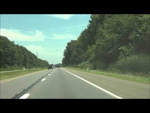 Pennsylvania - Interstate 90 East - Mile Marker 0-10 (7/3/15)