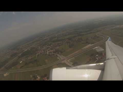 Air Transat A330 high thrust departure from Zagreb