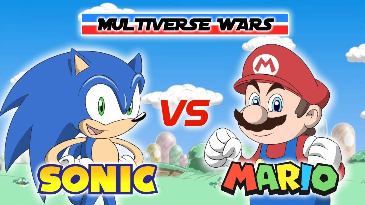 Super Mario vs Sonic the Hedgehog Animation - Multiverse Wars!