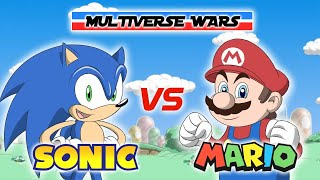 Download Super Mario vs Sonic the Hedgehog Animation - Multiverse Wars! Mp3 and Videos