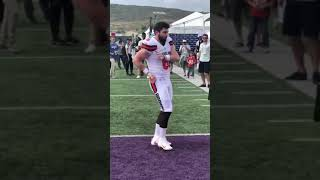 Baker Mayfield Dances to Migos