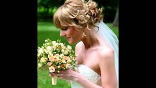 видео Свадебные прически на короткие волосы с фатой