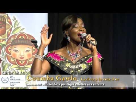 COUMBA GAWLO / MINIYAMBA, L'ARTISTE SEDUIT LA CPI