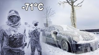 Dünyanın En Soğuk Üklesinde Hayatlarını Kaybetmeme