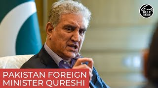 Exclusive interview with Pakistan Foreign Minister Qureshi during his visit in UAE