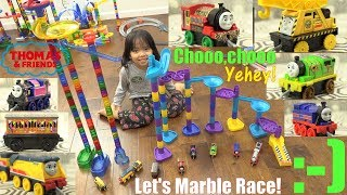 Thomas and Friends Trackmaster Push Along Marble Racing! Racing Elimination Tournament Race #58