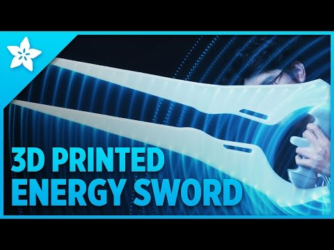 3D Printed Halo Energy Sword