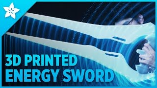 3D Printed Halo Energy Sword