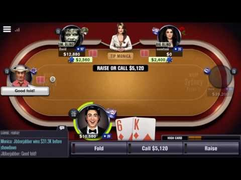 Sydney Tournament - WSOP App Game : A Voice Without Chips Is Mute