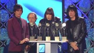 Ramones Accept Rock and Roll Hall of Fame Awards