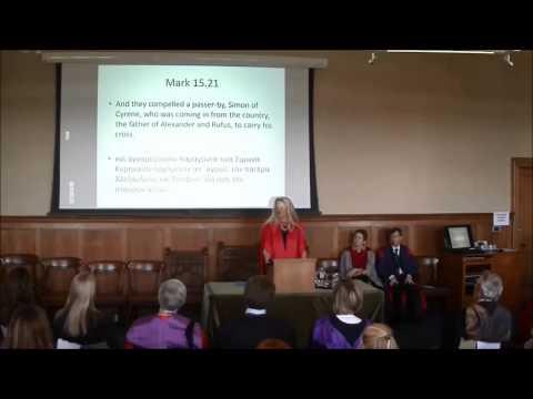 Opening Lecture 2015 - Professor Helen Bond