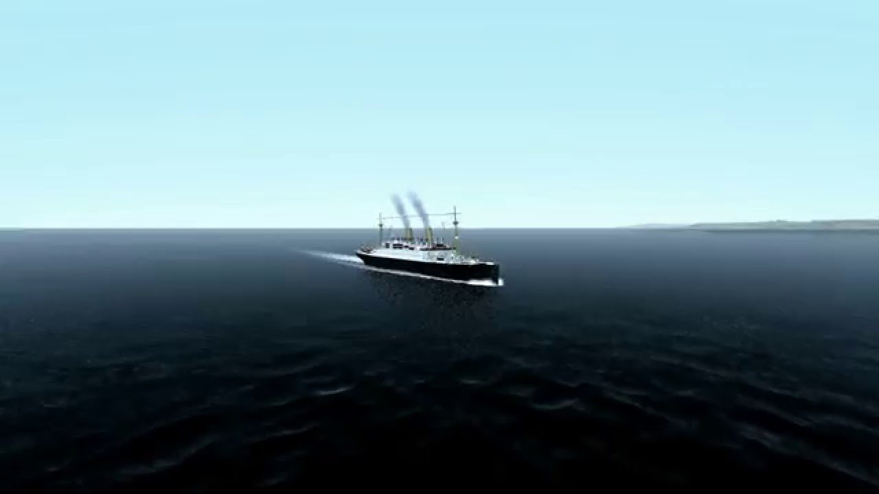 SS Berlin and SS Admiral Nakhimov in Virtual Sailor  YouTube