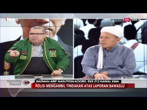 Jokowi Kembali Dituding Kriminalisasi Ulama, Begini Respon Razman Arif - Special Report 13/02