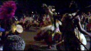 comparsa los Tonkas danza guerrera