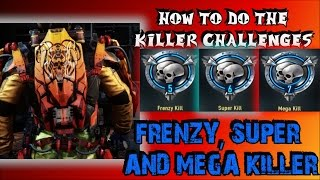 "How To Do The ""Frenzy, Super and Mega Killer"" Challenges (""KILLER CHALLENGES"")"