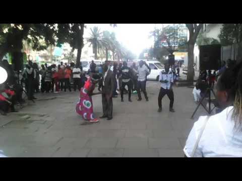Rose muhando mama mkwe in Nairobi street