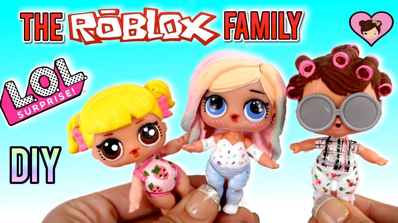 Lol Roblox Family Baby Goldie Titi Games Grandma Diy Custom