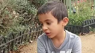 ילד בונה מכונה - הגן הדיאלוגי