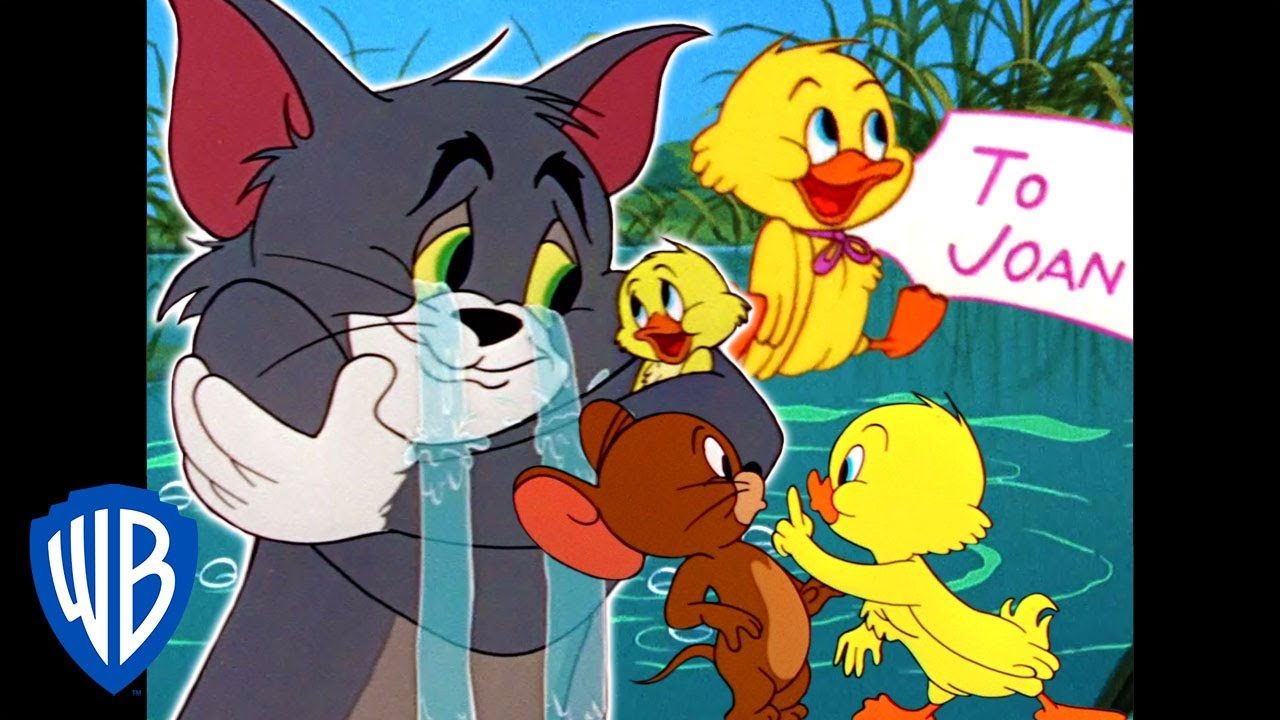 Tom & Jerry | Little Trouble, Little Quacker! | Classic Cartoon Compilation | WB Kids