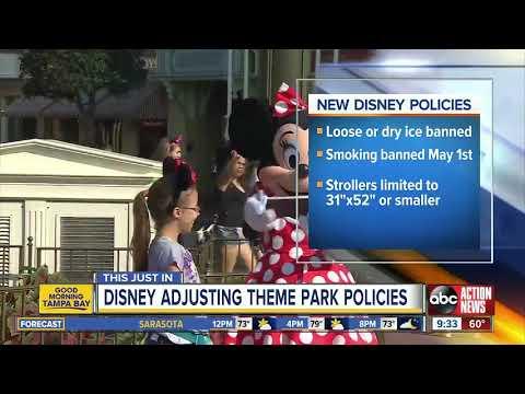 Florida Front Row - No Smoking At Disney World Starting May 1st