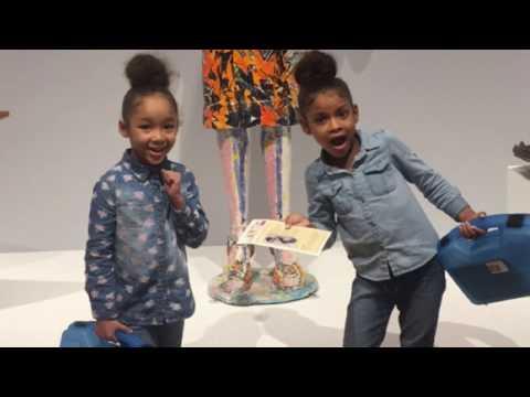 Dani and Dannah's trip to the Atlanta High Museum of Art