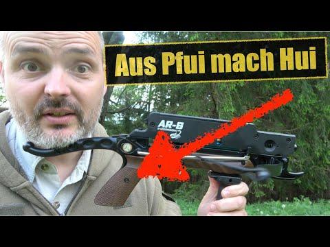 Aus Braun mach Schwarz! | Steambow Stinger Armbrust