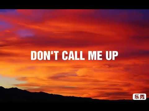 Mabel - Don't Call Me Up ( Lyrics Video )