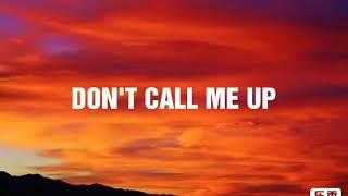 Mabel - Don't Call Me Up ( Lyrics Video ) Video