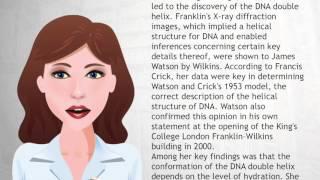 Rosalind Franklin - Wiki Videos