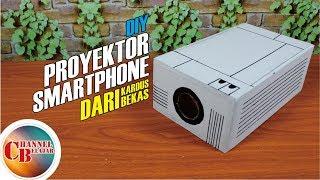 Cara Membuat Proyektor Smartphone.... tanpa Listrik !!!