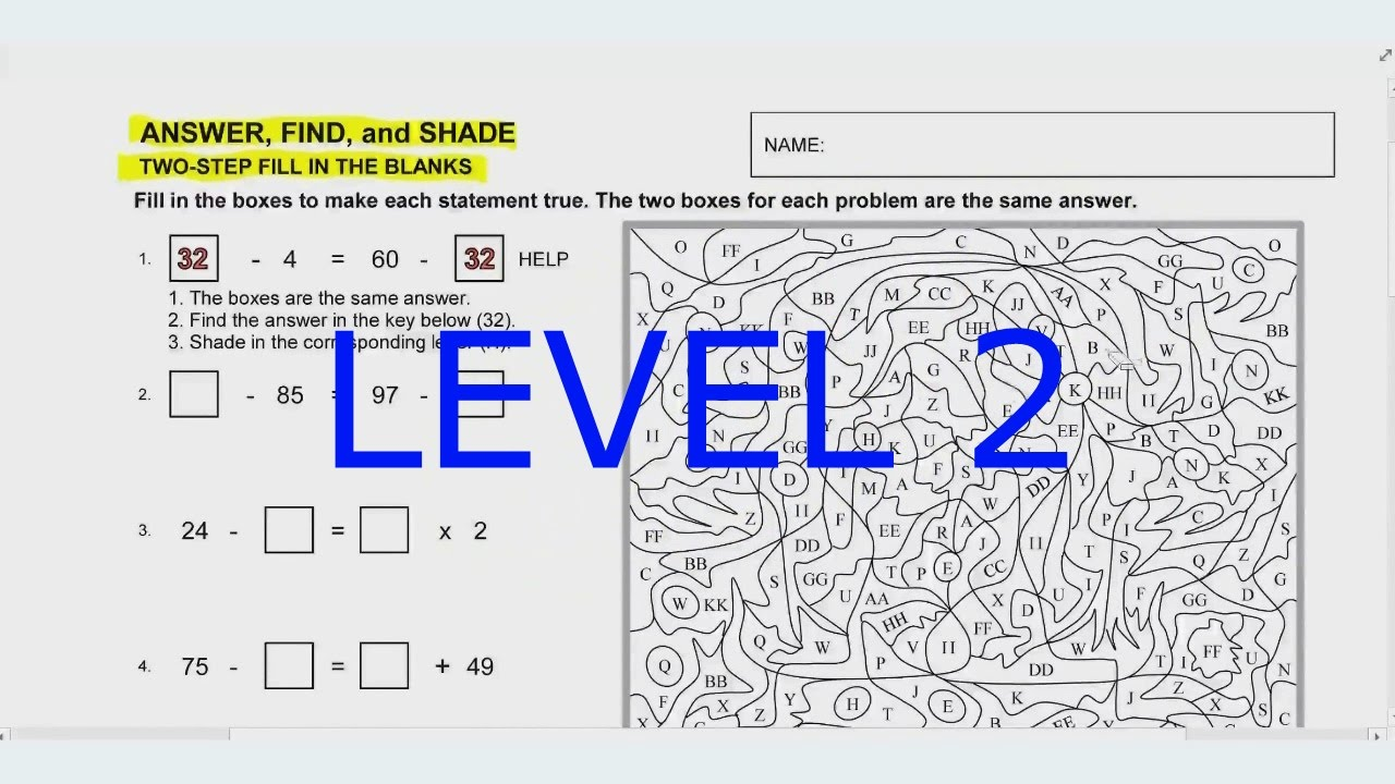 Video for two step fill in the blanks worksheet level 2 youtube video for two step fill in the blanks worksheet level 2 ibookread Read Online
