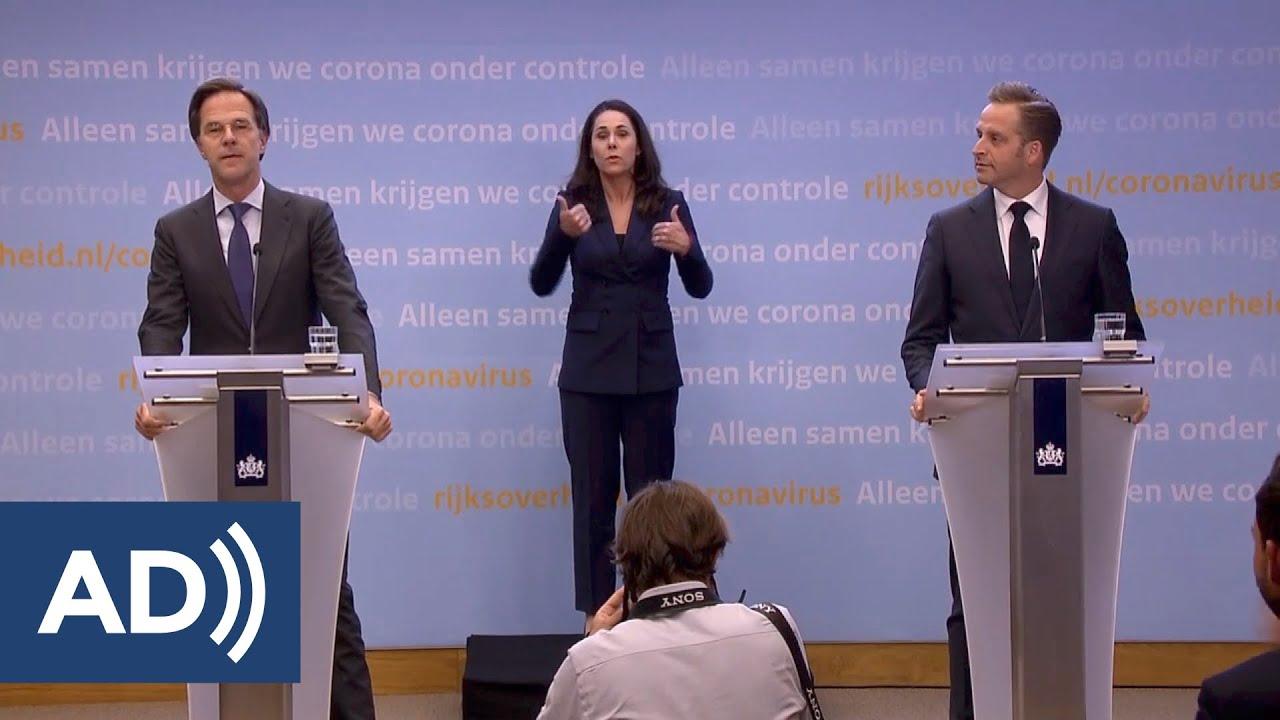 6 Mei 2020: Persconferentie Van Premier Rutte En Minister