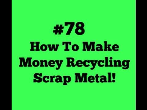 how to get free scrap metal