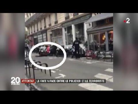 Attentat au couteau à Paris : le face-à-face entre le policier et le terroriste