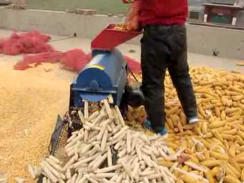Aix supply Corn thresher machine used in home yard