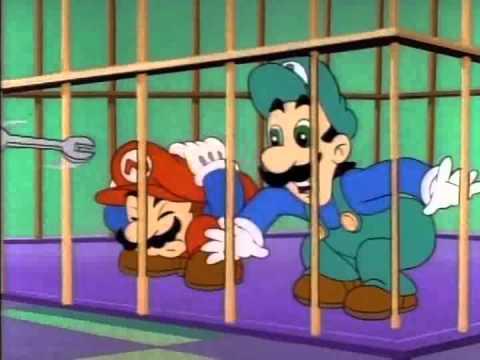Le Avventure Di Super Mario 2x21 - Sempre Più In Alto