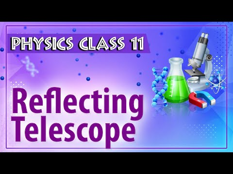 Reflecting Telescope - Ray Optics - Physics Class 11 - HSC - CBSE - IIT JEE