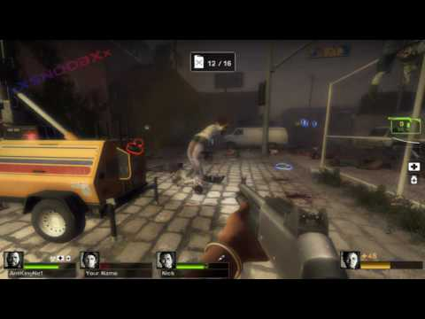 Outtakes: Let's Play Together Left4Dead2 - The Passing - Port #06
