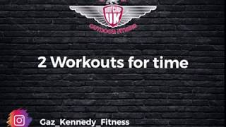 2 workouts for time