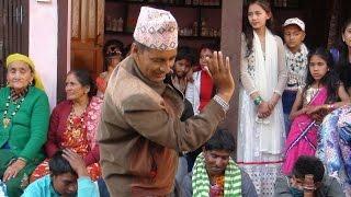 स्कुलका सरको जोशिलो नाच  || Beautiful dance by men at panche baja Gulmi Kurgha