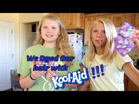 Dying Our Hair With Kool-Aid!! Hair Hack or Fail? Dip Dye vs. Conditioner Dye