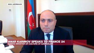 Nagorno-Karabakh: Christian sites 'not in danger of destruction', says Azerbaijani minister