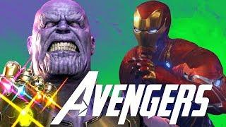 Thanos Opening Scene & The Black Order Invade New York - Avengers Infinity War