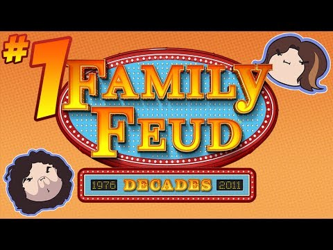 Family Feud Decades: Survey Turvy - PART 1 - Game Grumps VS