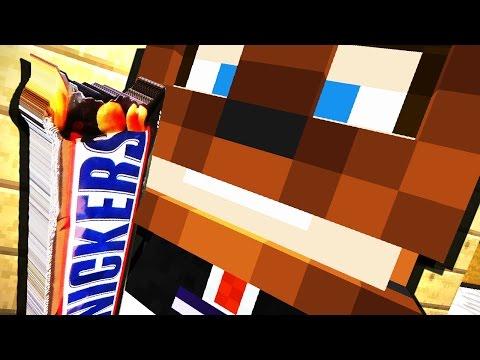 ГИГАНТСКИЙ СНИКЕРС - KIDS #25 - Видео из Майнкрафт (Minecraft)