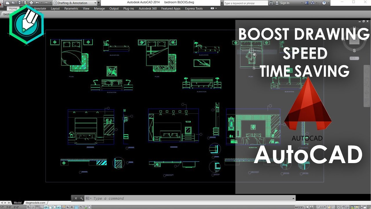 Auto-CAD Blocks free download And How to use it | for detail CAD drawings