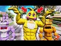 NEW BUFF TOY CHICA ANIMATRONIC! (GTA 5 Mods FNAF Kids RedHatter)